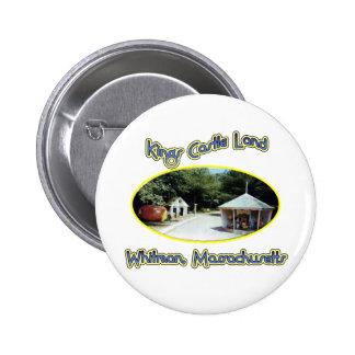 Kings Castle Land Pinback Buttons