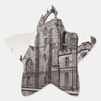 King's College - Aberdeen University - Vintage Star Sticker