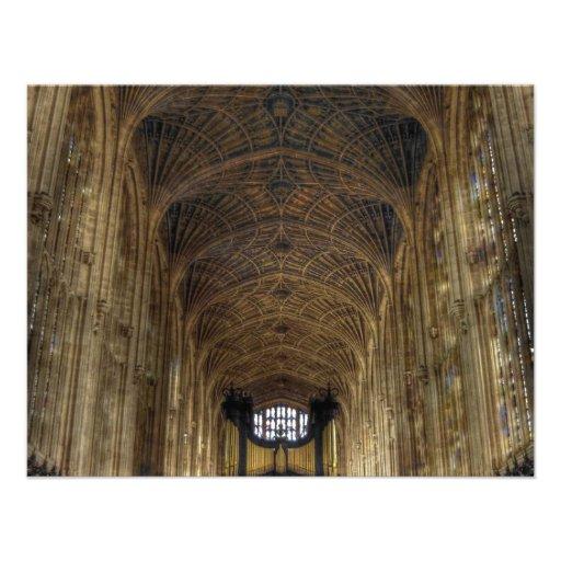 King's College Chapel ~ Cambridge, England Custom Invite