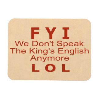King's English Magnet