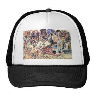 Kings Feast by Pavel Filonov Mesh Hat