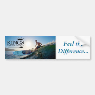 "King's ""Feel the Difference"" Bumper Sticker"