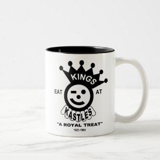 Kings Kastle Hamburgers, Chicago, IL Two-Tone Coffee Mug