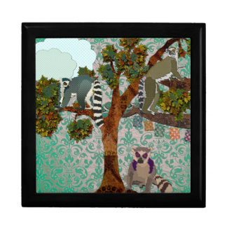 Kings of a Boho Forest Large Square Gift Box