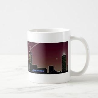 Kings of Crisis Red Skyline 15oz mug