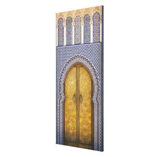King'S Palace Ornate Doors Canvas Print