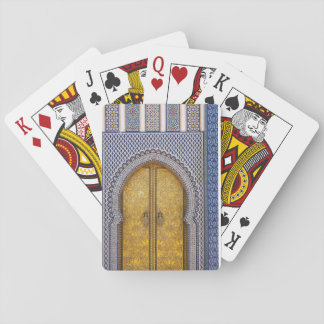 King'S Palace Ornate Doors Playing Cards