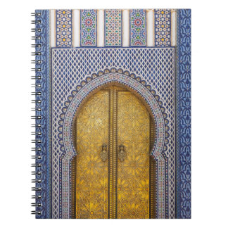King'S Palace Ornate Doors Spiral Notebook