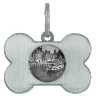 Kings Staithe in the City of York. Pet Name Tag