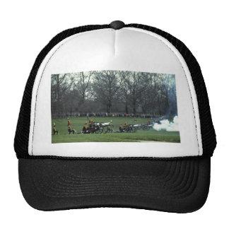 King's troops firing, Green Park, England Trucker Hats