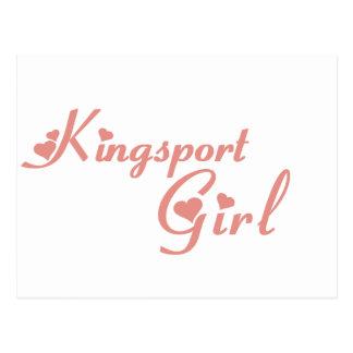 Kingsport Girl tee shirts Post Cards