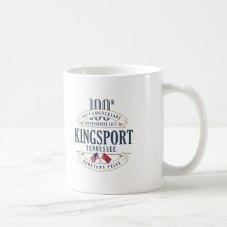 Kingsport, Tennessee 100th Anniversary Mug