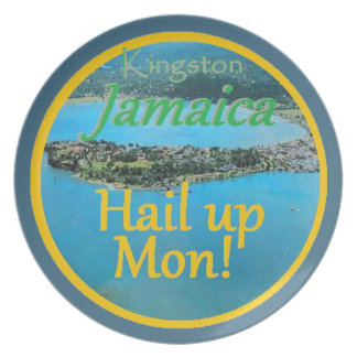 KINGSTON Jamaica Plate