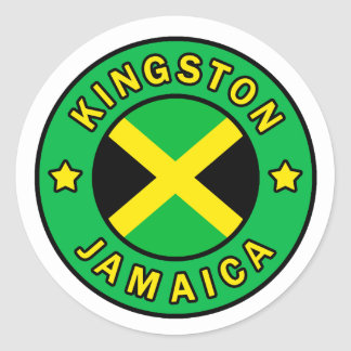 Kingston Jamaica sticker