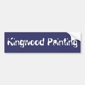 Kingwood Painting Bumper Sticker