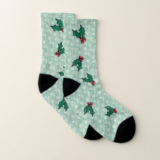 KiniArt Aloha Holly Socks 1