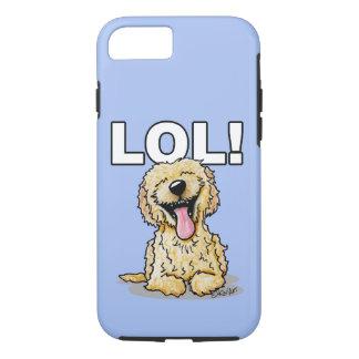 KiniArt Doodle Dog LOL iPhone 7 Case
