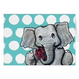 KiniArt Elephant Card