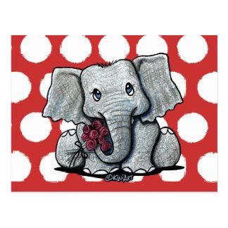 KiniArt Elephant Postcards