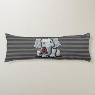 KiniArt Elephant Striped Body Cushion