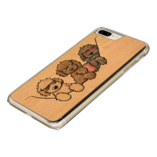 KiniArt Exotic Pocket Doodles Carved iPhone 8 Plus/7 Plus Case