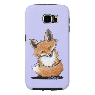 KiniArt Fox Samsung Galaxy S6 Cases