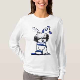 KiniArt Hanukkah Havanese Reindeer T-Shirt