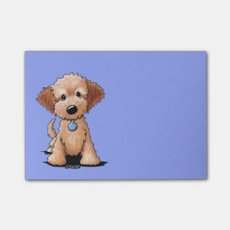 KiniArt Mini Goldendoodle Post-it Notes