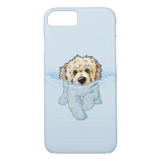 KiniArt Swimming Doodle iPhone 7 Case