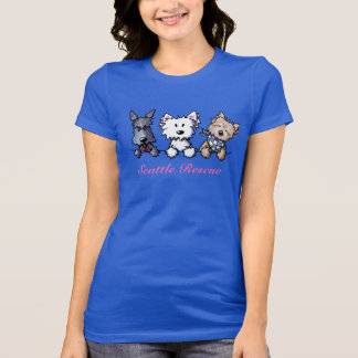 KiniArt Terrier Trio T-Shirt