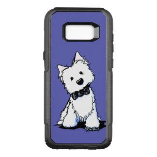 KiniArt Westie Black Tie Event OtterBox Commuter Samsung Galaxy S8+ Case