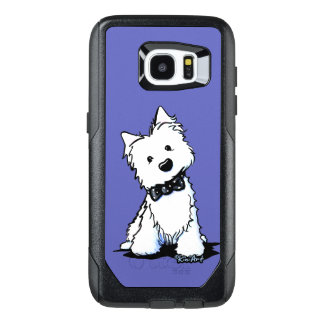 KiniArt Westie Black Tie Event OtterBox Samsung Galaxy S7 Edge Case