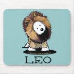 KiniArt Westie Dog LEO Lion Mousepad