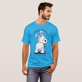 KiniArt Westie Easter Bummy T-Shirt