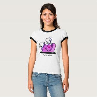 KiniArt Westies Totes Adorbs T-Shirt