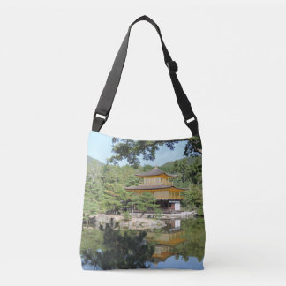 Kinkakuji Temple Cross-Body Tote