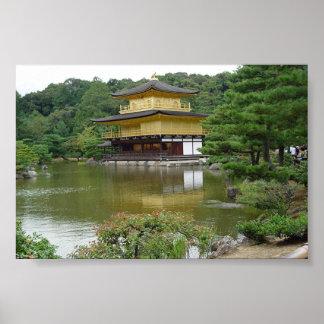 Kinkakuji: Temple of The Golden Pavillion Poster