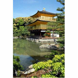 Kinkakuji, the Golden Pavilion, Kyoto, Japan Acrylic Cut Outs