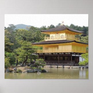 Kinkakuzi in Kyoto Poster