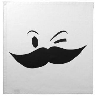 Kinky Mustache Napkin