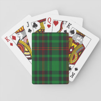 Kinnear Scottish Tartan Playing Cards