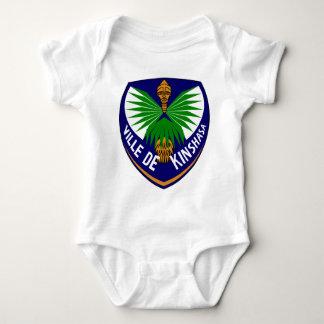 Kinshasa_-_Coat_of_arms Baby Bodysuit