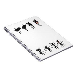 kintamani dog notebook