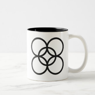KINTINKANTAN  | symbol of arrogance Two-Tone Coffee Mug
