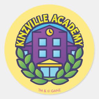 Kinzville Academy Logo Classic Round Sticker