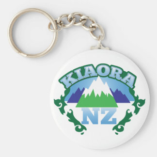 KIORA Kiwi New Zealand hello Key Ring