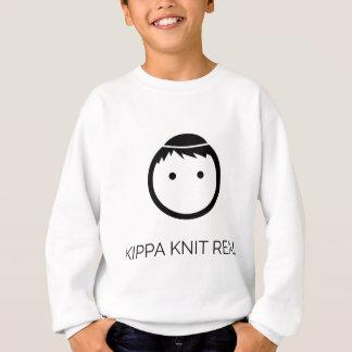 Kippa Knit Real - Black Sweatshirt