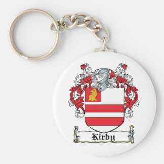 Kirby Family Crest Key Ring