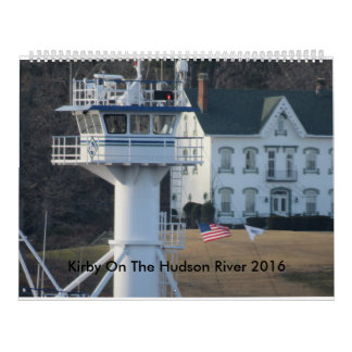 Kirby On The Hudson River 2016 Calendars