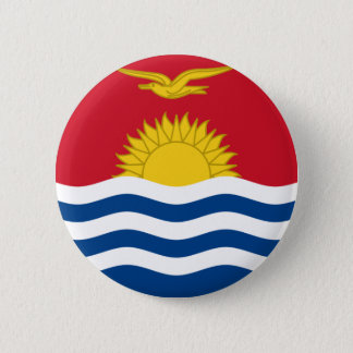 kiribati 6 cm round badge
